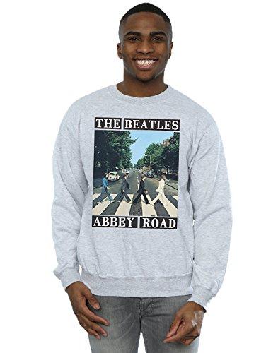 The Beatles Herren Abbey Road Sweatshirt X-Large Sport Grey -
