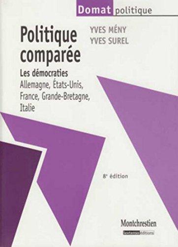Politique comparée 8ème édition par Yves Meny