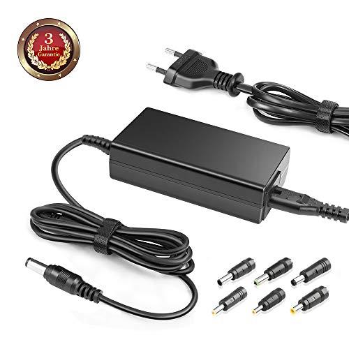 15V 4A Universal AC Adapter 5.5 x 2.1mm mit 6 Konverter Steckers 6.5*4.4/6.5*3.0/5.5*2.5/4.8*1.7/4.0*1.7/5.5*3.0mm für SKYRC IMAX B6 TOSHIBA Satellite PA2444U PA2450U PATS2450U PA3048U EU Strom Kabel 363 Gps