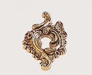Entrée de clé Ancienne Louis XV en Zamak