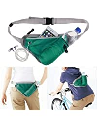 Getko Men Women Outdoor Travel Sports Kettle Waist Pack Fanny Pack Chest Belt Bag
