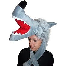 Wolf-Mütze, F73, One Size, Fasnachts-Kostüme Tier-Kostüm, Wolfs-Kostüme Wölfe Kostüme Wolf-Faschingskostüm, Fasching Karneval, Faschings-Kostüme, Geburtstags-Geschenk Erwachsene