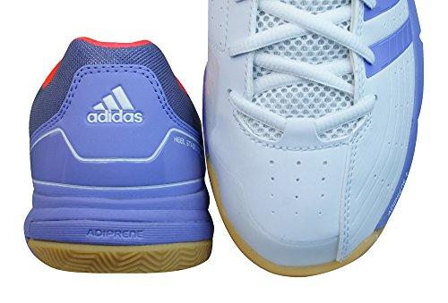 adidas Quickforce 7 Damen Badminton-Turnschuhe - Weiß White