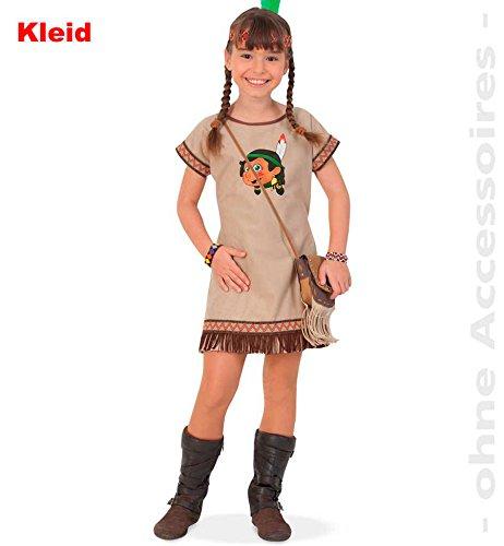 n Lani Kleid Mädchen Kostüm Fasching Karneval Verkleiden: Größe: 104 ()