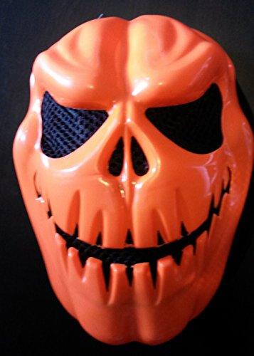 Sachsen Versand Halloween Gruselige Maske Zombi Kürbis Gruseln Schream Verkleiden erschrecken Blut Fasching Karneval