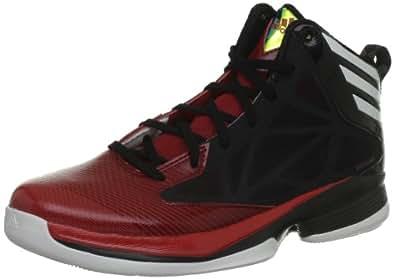 adidas Crazy Fast, Chaussures de basketball homme - Noir (Black 1/White Ftw), 43 1/3 EU