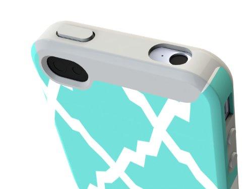 Hard Candy Cases PRT4S-OR Etui pour iPhone 4S Motif Orchid Motif diamant