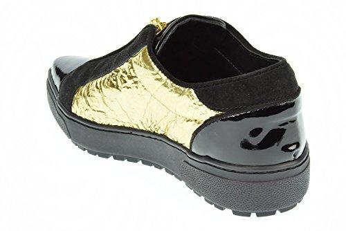 PINKO donna sneakers basse 1H204U Y1RD Z99 COMETA Nero-Oro