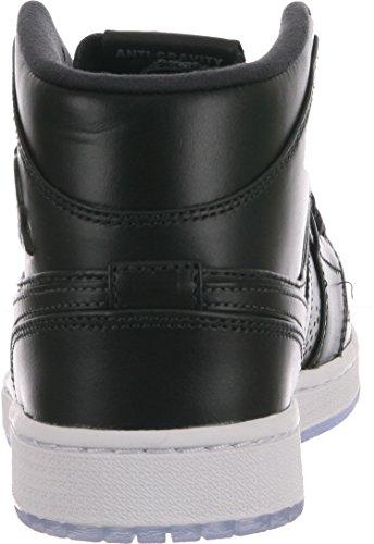Nike Air Jordan 1 Mid Nouveau Herren Hohe Sneakers Anthracite/White