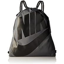 Nike Heritage Bolsa, Negro / Gris, S