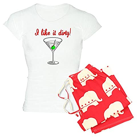 CafePress - I LIKE IT DIRTY Pajamas - Womens Novelty