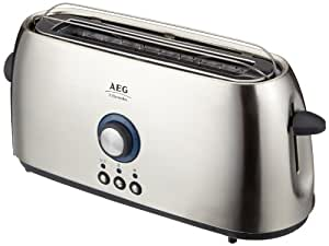 aeg at7010 1slice s 1000w stainless steel toaster. Black Bedroom Furniture Sets. Home Design Ideas