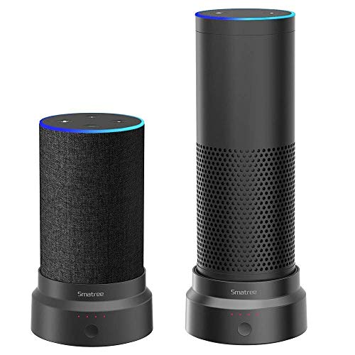 Smatree Batteriebasis für Amazon Echo (2.nd Generation) und Echo Plus