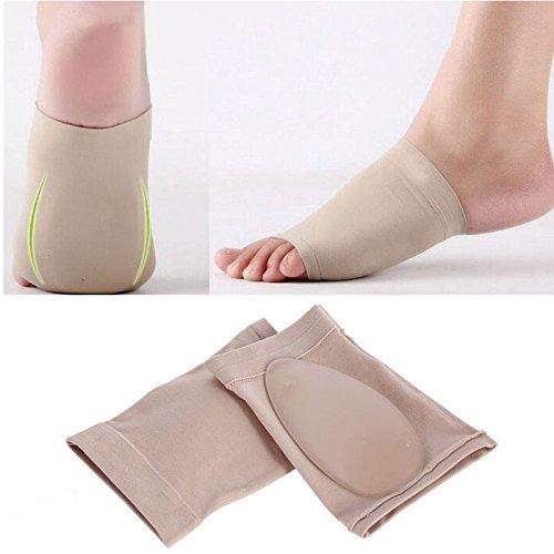 SPEQUIX 2 Silikon Gel Fersensporn Fuß Fußgewölbe Kissen Gel Plantarfasziitis Sleeve Komfort Spandex die Gel-Pads - Gel-fußgewölbe-kissen