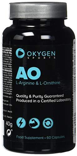 Okygen Sports AO - L-Arginin & L-Ornithin - 60 Kapseln -
