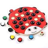 NOMEN Toys of Wood Wooden Memory Spiele Für Kinder - Familien Brettspiele Für Kinder Und Erwachsene