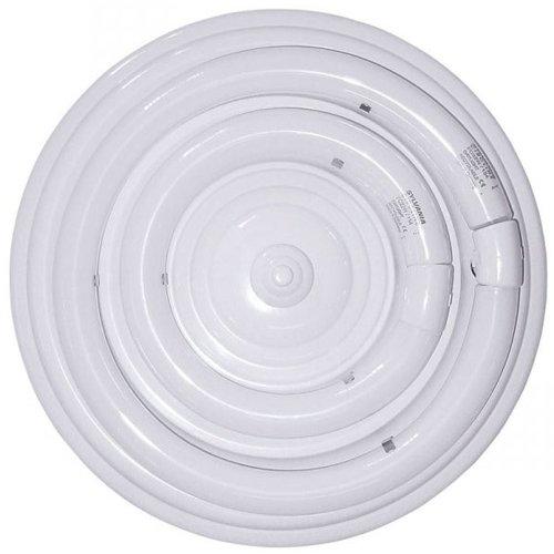 Plafón fluorescente circular 54W de dos tubos