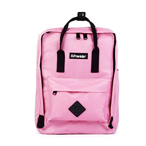 d-franklin-unisex-erwachsene-backpack-rucksack-pink-16x36x27-cm