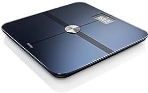 Withings Smart Body Analyzer Bilancia Connessa e Monitoraggio della Forma, Nero