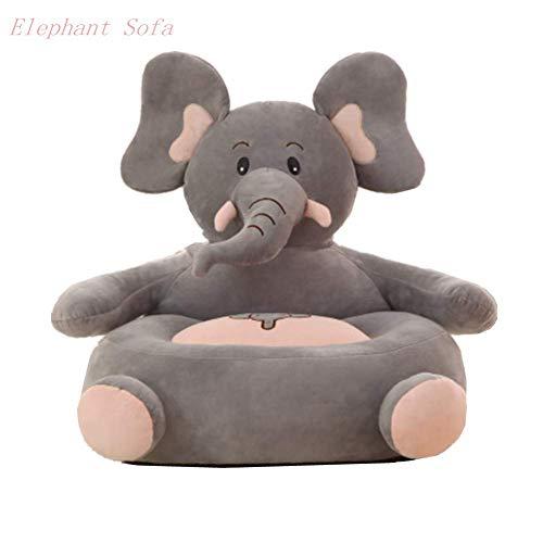 Pelande Kinder Plüsch Sofa Sitz Kinderstuhl Komfort Sessel Tier Sofa Sitz (Elefant)