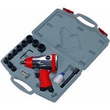 Einhell 0 Set con llave impacto de aire comprimido Rojo