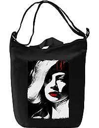 Maniac blooded girl Bolsa de mano D'a Canvas Day Bag| 100% Premium Cotton Canvas Fashion