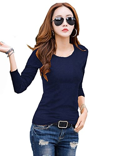 J B Fashion Women's knitting black top