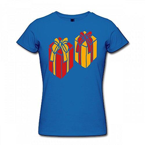 qingdaodeyangguo Shirt For Women - Design Gifts With Bow Shirt blue