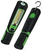 LED Stableuchte mit Akku Magnethalter 3W 360 Lumen IP44 mobiler Einsatz Camping Werkstatt Keller Outdoor
