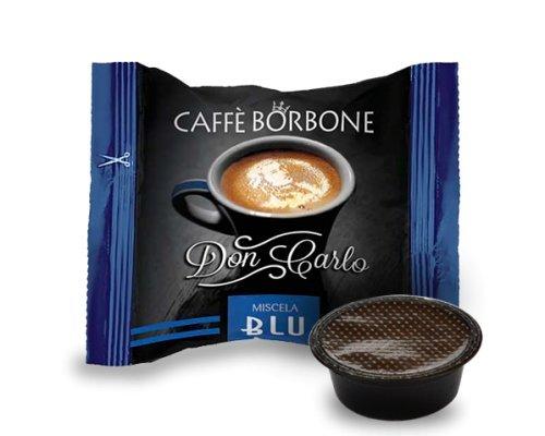 50Cápsulas café Borbone Don Carlo Azul COMPATIBLES a modo mio