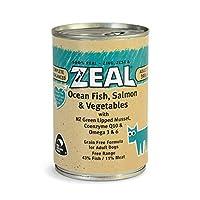Zeal Ocean Fish, Salmon & Vegetables Canned Dog Food 390grm