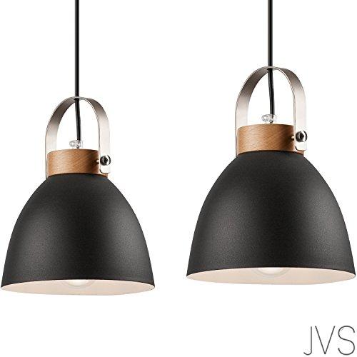 Pendel-Leuchte Decken-Leuchte aus Metall E27 Hänge-Leuchte Vintage Industrieleuchte Wohnzimmerlampe...