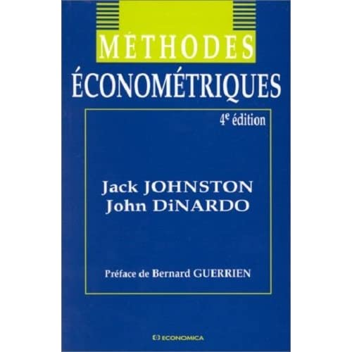 Méthodes économétriques