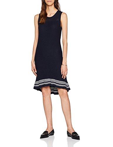 Tommy Hilfiger Women's Valeska C-Nk Ruffle Hem Dress