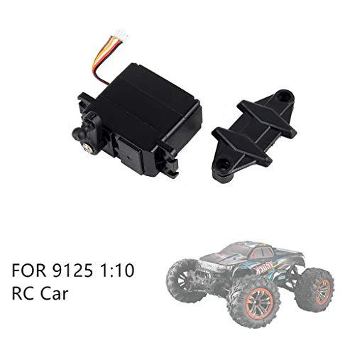 Mitlfuny Auto-Modell Plüsch Bildung Squishy Spielzeug aufblasbares Spielzeug im Freien Spielzeug,Auto 5-Draht Lenkgetriebe Servo Reparatur Zubehör Ersatzteil für XLH 9125 RC ()