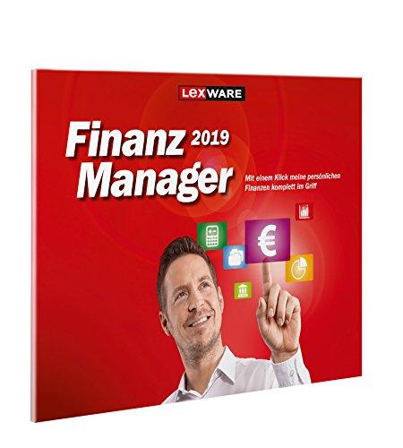 Lexware FinanzManager 2019/in frustfreier Verpackung/Einfache Buchhaltungs-Software für private Finanzen und Wertpapier-Handel/Kompatibel mit Windows 7 oder aktueller