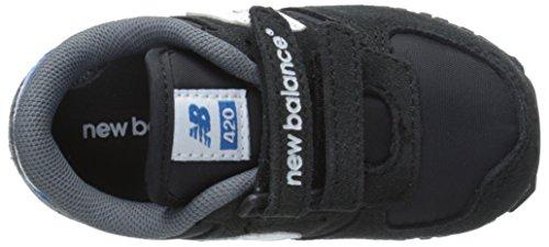 New Balance KE420, Baskets mode mixte enfant Noir (Bai Black/Blue)