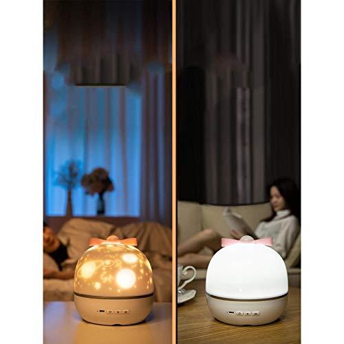 Luz noche sueño creativo romántico habitación infantil