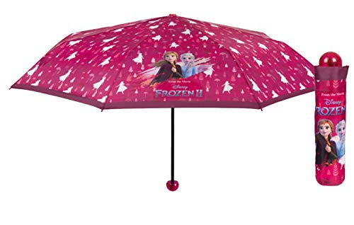 Perletti mini manuale 50cm frozen 2 ombrelli da bambino (personaggi), multicolore, 8015831502366