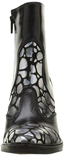 Donna Piu 9647 Brigida, Bottes Classiques Femme Multicolore (Sauron Antracite/Tequila Nero)