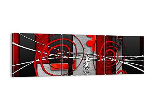 Cuadro sobre lienzo - 3 piezas - Impresión en lienzo - Ancho: 150cm, Altura: 50cm - Foto número 0599 - listo para colgar - en un marco - CA150x50-0599