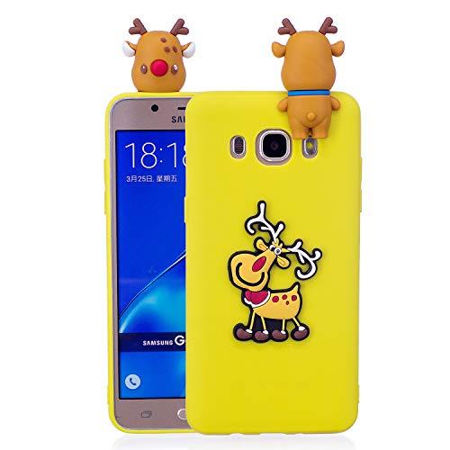 Forhouse Samsung Galaxy J7 (2016) J710 Hülle, Ledertasche, Premium PU Leder Schutzhülle Flip Magnet Brieftasche Kartenfach Schlanke stoßfest Schutzhülle für Samsung Galaxy J7 (2016) J710