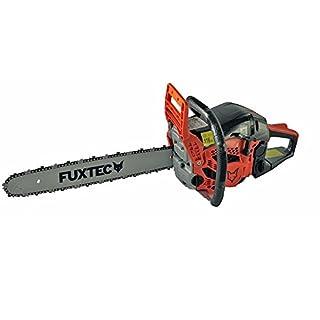FUXTEC Benzin Kettensäge FX-KS155 Schwert 45 cm Kette 55 cc Motorsäge MS Motorkettensäge PS Säge