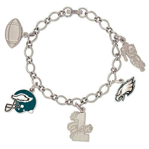 Wincraft Damen Charms Armband - NFL Philadelphia Eagles
