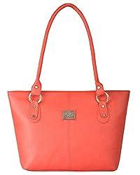 Fostelo Women's Messenger Shoulder Bag (Red) (FSB-574)