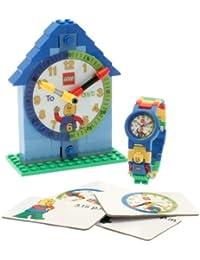 LEGO Temps garçon des enseignants - 9005008 - Montre Garçon - Quartz Analogique - Bracelet Plastique Bleu
