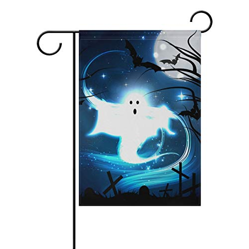 t in The Graveyard Double Sided Polyester Garden Flag, Winter Holiday Decorative Flag for Party Yard Home Decor(Size: 12.5inch W X 18 inch H) ()