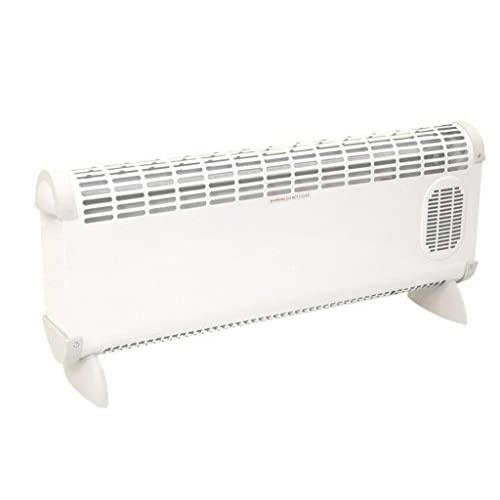 Prem-I-Air 'Bajo' 2.5kW Convector Heater With Turbo Fan – EH1664