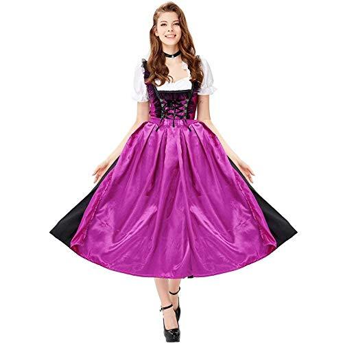 Kostüm Sexy Pixie - GWNJSSX Sexy Dienstmädchen Kostüm,Halloween Night Oktoberfest Kostüm Damen Kleid