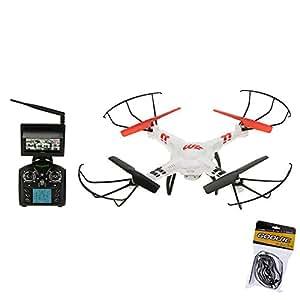 GoolRC Wltoys V686G 2.4 G 4CH temps réel Transmission FPV Drone UFO Quadcopter avec 2MP Mode sans tête de la caméra HD